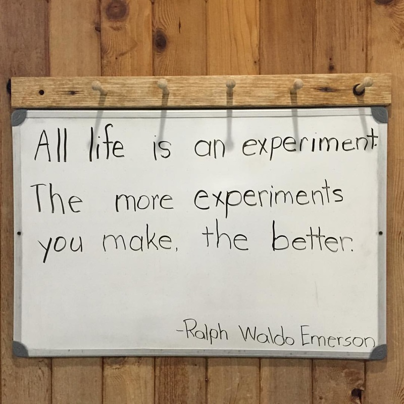 Ralph Waldo Emerson Experiment Quote