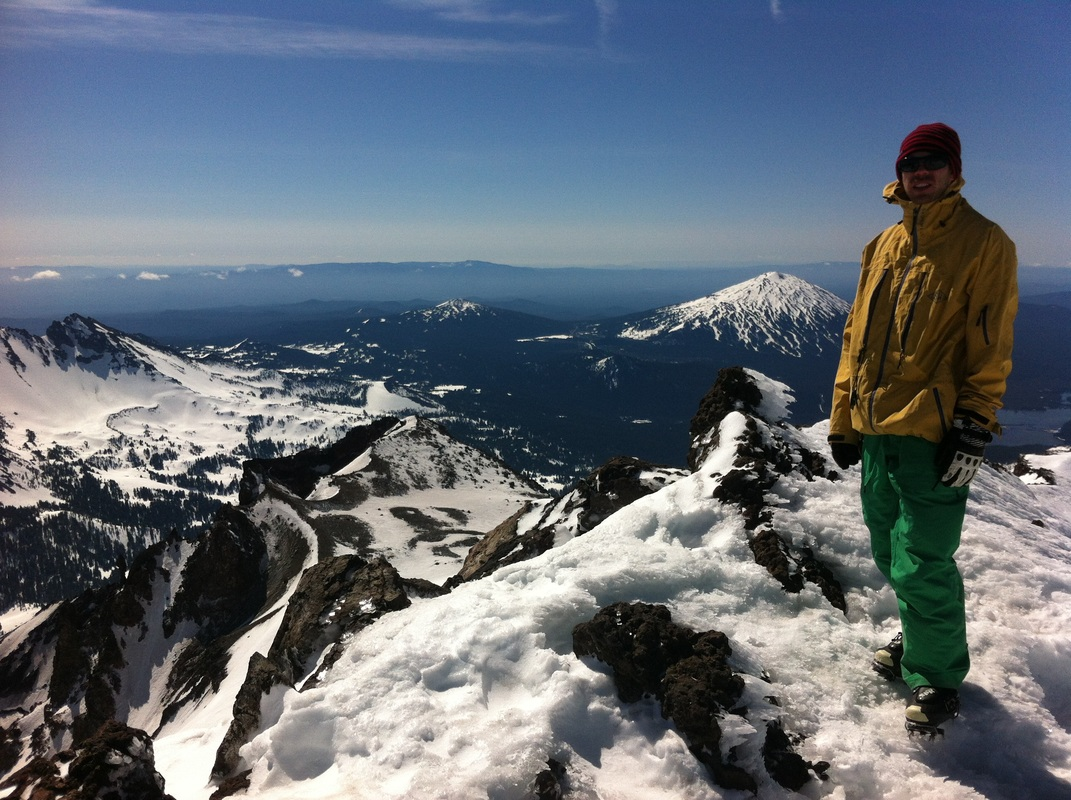 Scott Rowley South Sister Oregon Skiing